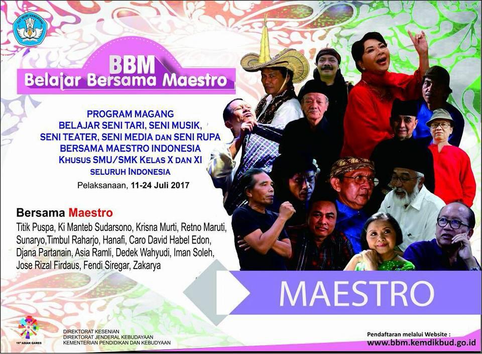 Belajar Bersama Maestro