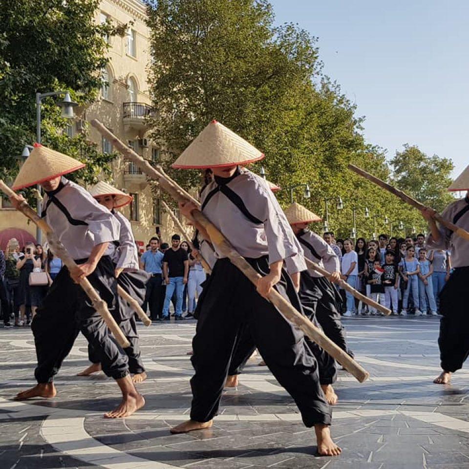 Tari Nenemo di Indonesian Cultural Festival (ICF) ke-3, Baku Azerbaijan