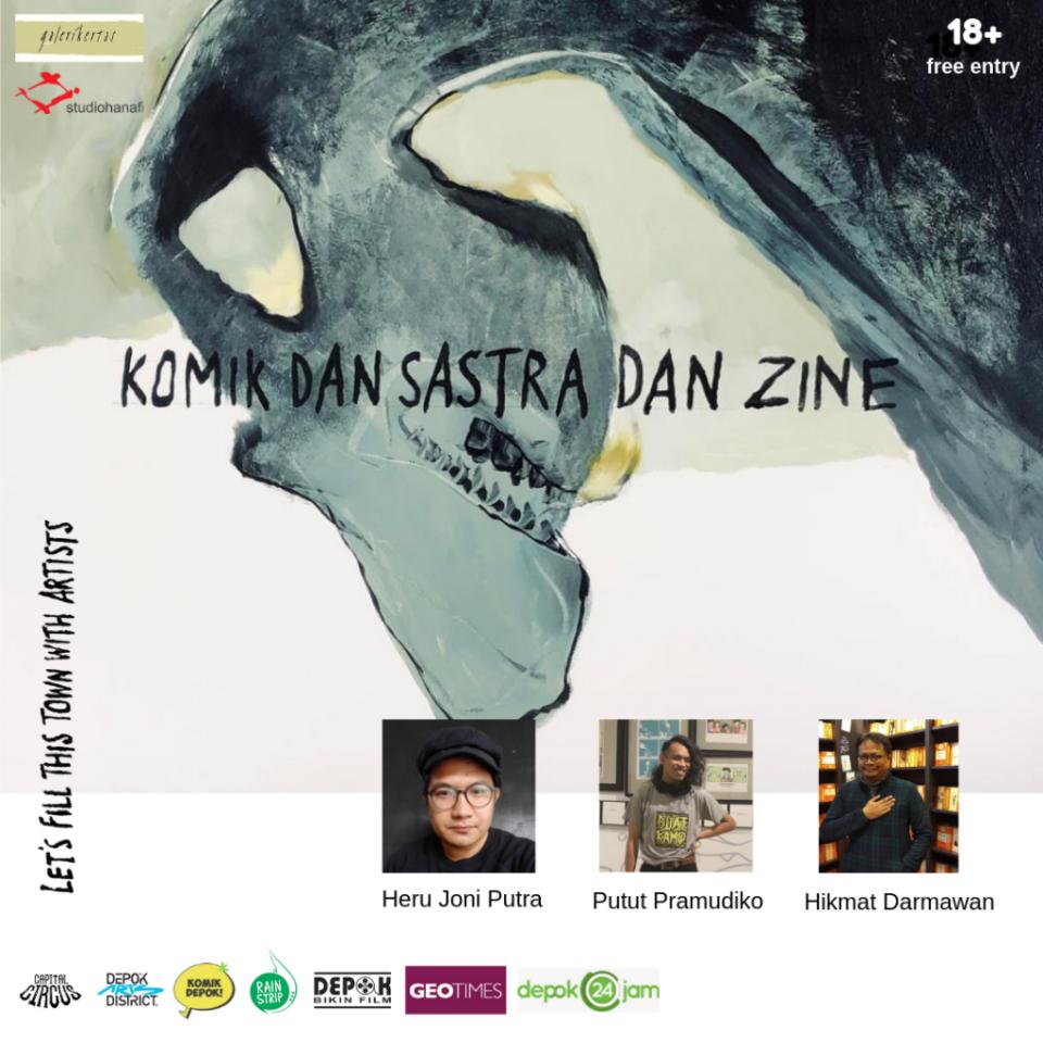 Lokakarya Komik dan Sastra dan Zine (1)